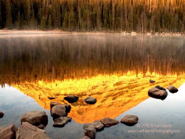 Mirror Lake at Sunrise, October 4, 2011