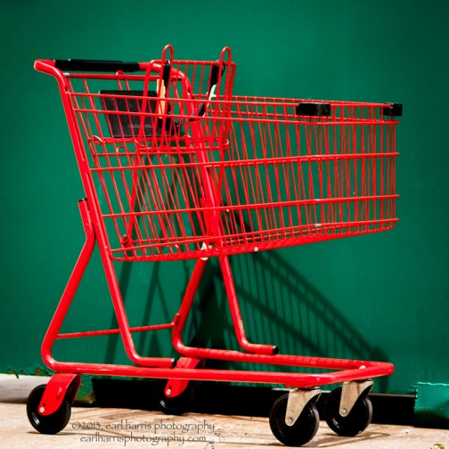 """Shopping Cart"" [Click the image to enlarge/reduce its size.] Nikon D300, ISO 320, f/3.3 at 1/1000 sec., 85 mm"