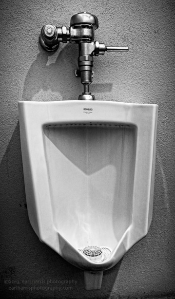 """Urinal The Way"" [Click the image to enlarge/reduce its size.] Nikon D800, ISO 640, f/4.0 at 1/20 sec., 16 mm"