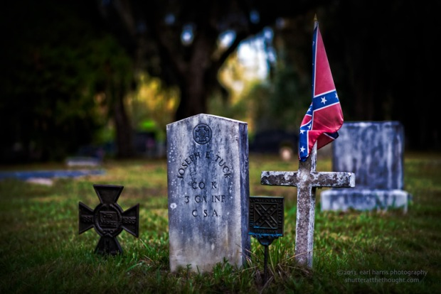 """Resting in the Confederacy"" [Click the image to enlarge/reduce its size.] Nikon D800, ISO 320, f/2.0 at 1/500 sec., 85 mm"