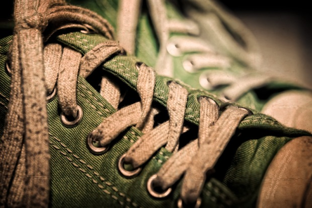 """""""Comfortable Shoes"""", Nikon D800 in DX mode, ISO 100, f/5.0 at 0.8 sec., 60mm DX micro"""