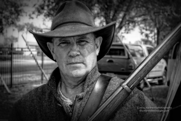"""The Rifleman"", Nikon D800, ISO 400, f/11 at 1/160 sec., 82 mm"