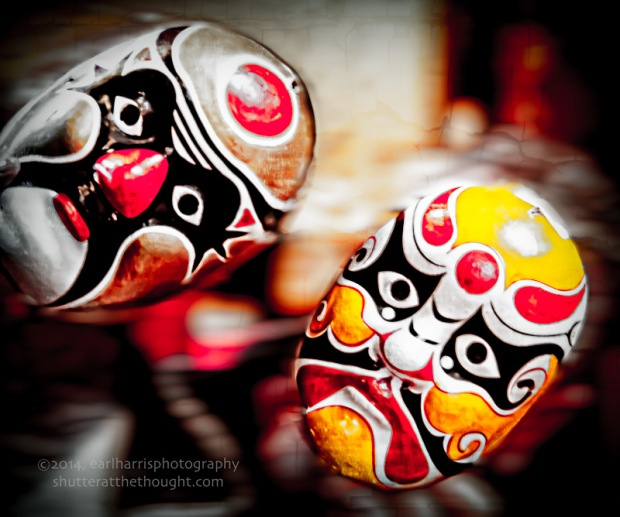 """Masks Thrown Off"", Nikon D800, ISO 1000, f/5.6 at 1/25 sec., 145mm"