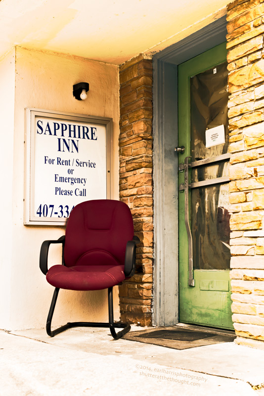"""Sapphire Inn"", Nikon D800, ISO 320, f/5.0 at 1/1000 sec., 50mm"