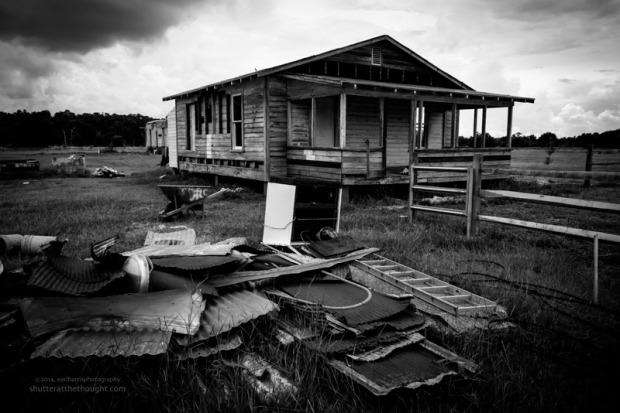 """""""A Broken Home"""", Nikon D800, ISO 640, f/18 at 1/400 sec., 28mm"""