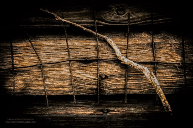 """Abstract in Wood & Rust"", Nikon D800, ISO 640, f/9.0 at 1/200sec., 78mm"