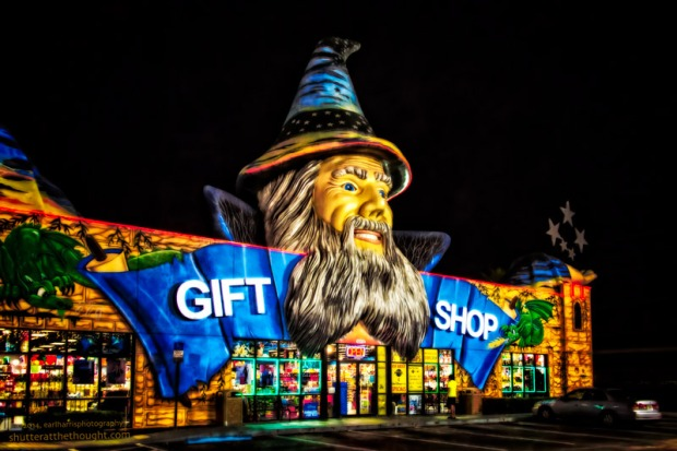 """Gift Shop"", Nikon D800, ISO 1600, f/5.0 at 1/50sec., 28mm"