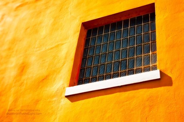 """""""Glass Block Window"""", Nikon D800, ISO 500, f/5.3 at 1/30 sec., 92 mm"""