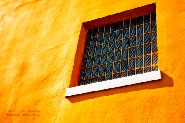 """Glass Block Window"", Nikon D800, ISO 500, f/5.3 at 1/30 sec., 92 mm"