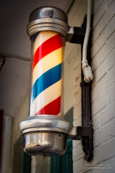"""Barber Pole"", Nikon D800, ISO 640, f/5.6 at 1/400 sec., 78mm"
